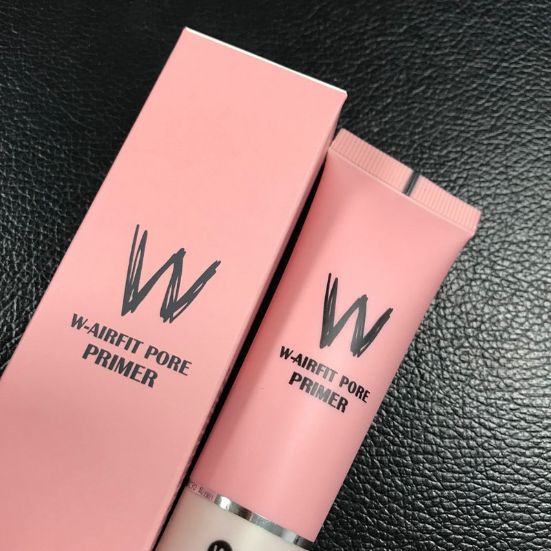 W-Airfit Pore Concealer Primer Cream Foundation Oil Control Base Makeup Pores Invisible Smooth Korea Skin Care Cosmetic FaceMask