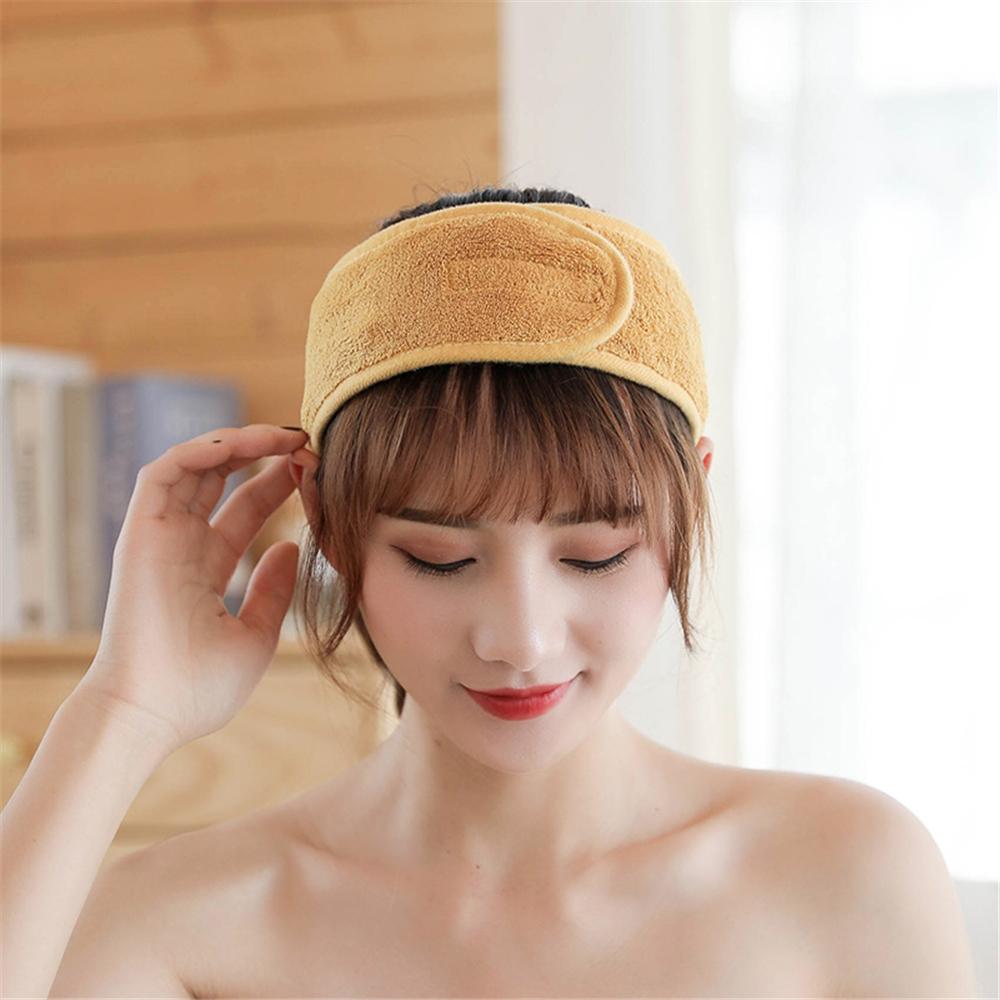Adjustable Makeup Hair Bands Wash Face Hair Holder Soft Toweling Headbands Hairband Headwear for Women Girls Hair Accessories