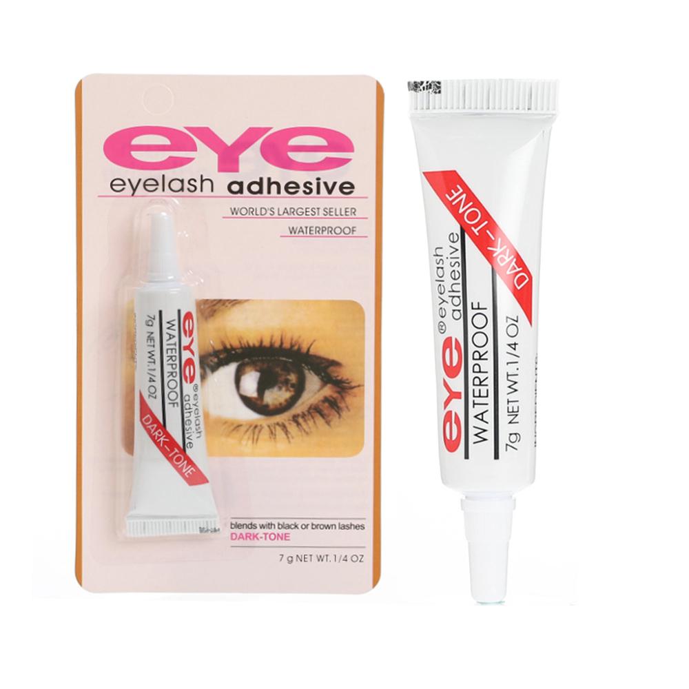 1PC False Eyelashes Makeup Adhesive False Eyelash Glue Clear-white Dark-black Waterproof Eye Lash Cosmetic Tools TSLM1