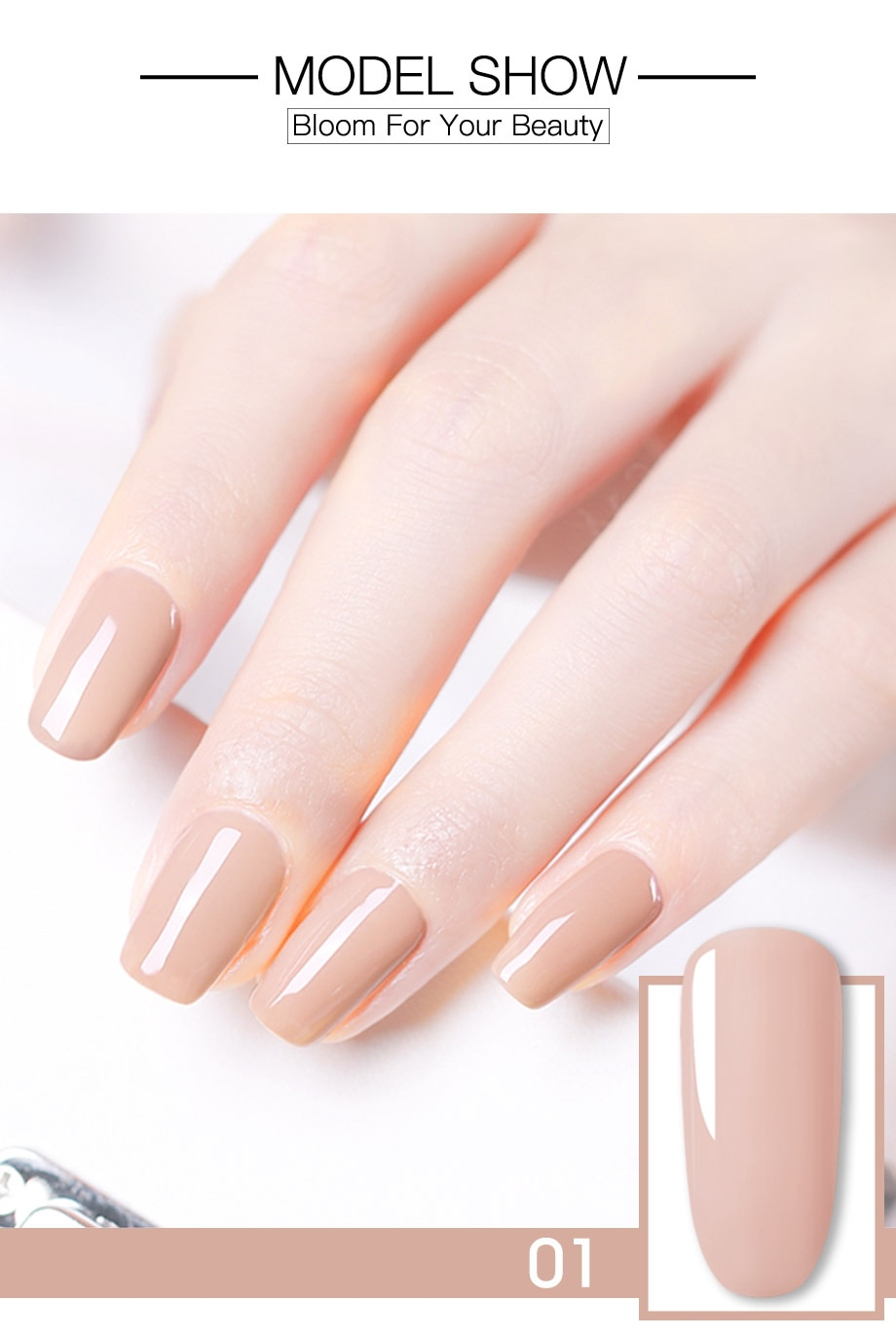 ROSALIND Gel Nail Polish Set Solid Color Nail Kit For Manicure Vernis Semi Permanent 7ML Gel Kit Top And Base All For Manicure