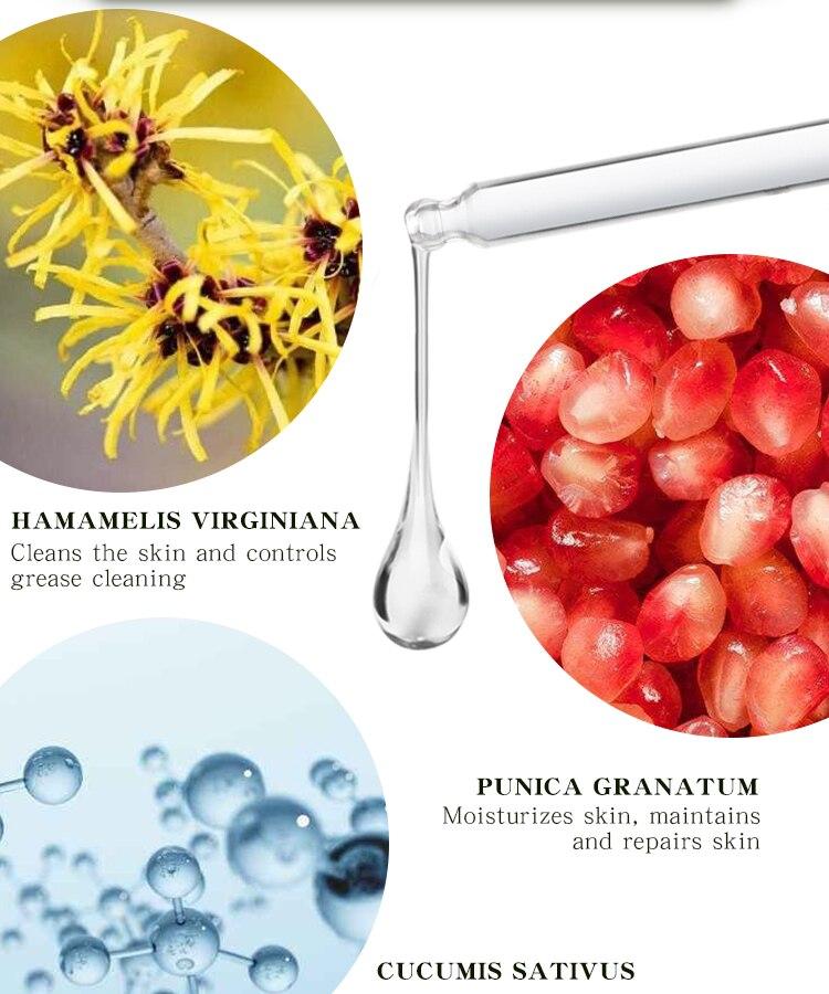 MABREM Pore Shrinking Serum Essence Pores Treatment Moisturizing Relieve Dryness Oil-Control Firming Repairing Smooth Skin Care